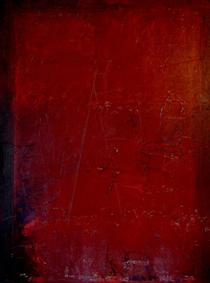 3-C24-5 Oil/Acrylic/Collage on canvas 4x3' C. Gregory Gummersall© SOLD